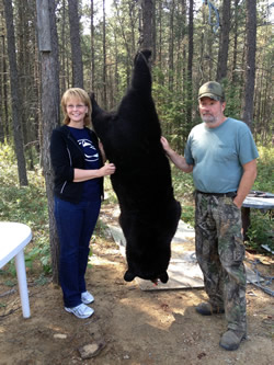 Bear Hunting in Northern Ontario - Watershed Bear Outfitters - Gogama, Ontario